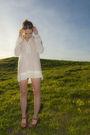 White-zara-dress-brown-jeffrey-campbell-shoes