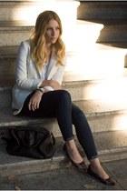 H&M blazer - Daniblack shoes - Levis jeans - Alexander Wang purse - BDG t-shirt