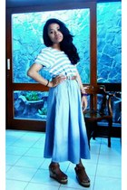 trifted belt - Bunga bracelet - trifted skirt - trifted blouse