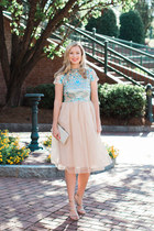 Boohoo dress - Nordstrom heels