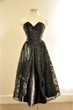 black Flirtations Alfred Angelo dress