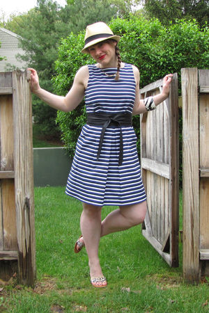 talbots dress - PacSun hat - Target shoes - Gap belt