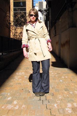 indidenim jeans - Old Navy jacket - Target shirt - vintage shoes