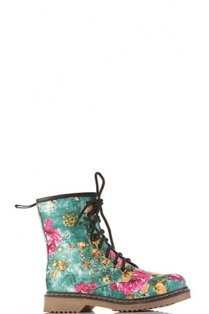 floral print Lucy in the sky boots