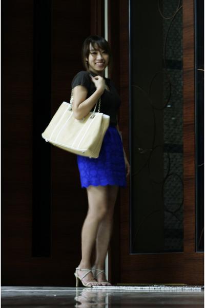 top Ralph Lauren top - bag calvin klein bag - heels SAERA heels