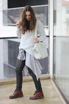 Dr Martens boots - Alexander Wang bag - Zara jumper