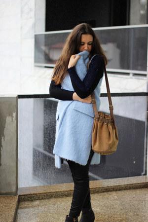 Zara pants - asos boots - Zara vest