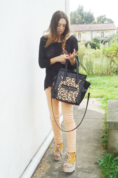 sweater - H&M wedges