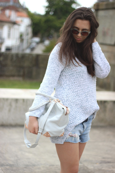 Alexander Wang bag - Isabel Marant boots - Zara sweater