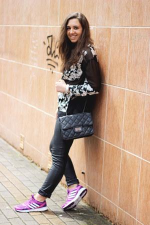 Primark leggings - asos shirt - Adidas sneakers