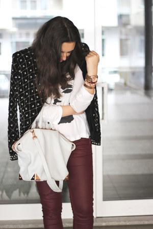 H&M jeans - Zara jacket - Alexander Wang bag