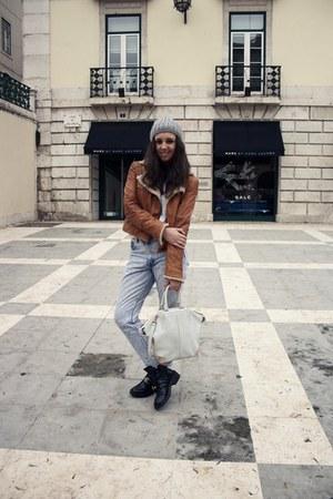 balenciaga boots - Levis jeans - H&M hat - Alexander Wang bag