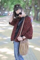 GINA TRICOT boots - BLANCO jeans - Celine sunglasses