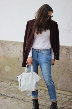 Alexander Wang bag - H&M jeans - ray-ban sunglasses - Zara sandals