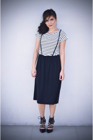 striped Tofus Ulzzang Shoppe dress