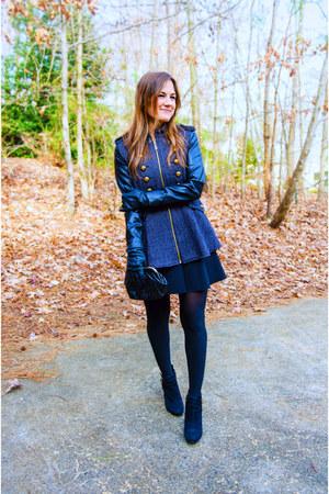 Nordstrom jacket - Vince Camuto boots - Topshop skirt