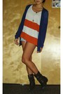 Charlotterusse-boots-hollister-shorts-color-blocking-h-m-top