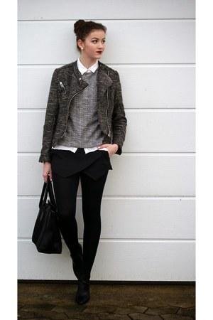 Pimkie shoes - H&M jacket - Zara shorts