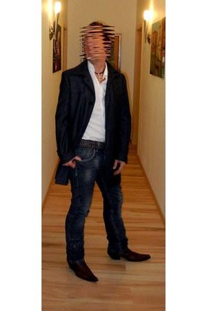 esprit jacke jacket - marlboro boots boots boots - castro Jeans jeans