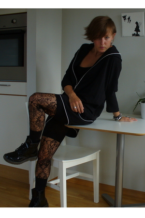 GINA TRICOT jacket - H&M tights - boots