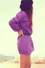 Purple-wrap-inlovewithfashion-dress-black-bershka-boots