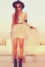 Heather-gray-sheinsidecom-dress