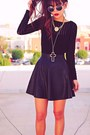 Black-studded-choiescom-boots-black-motelrockscom-dress
