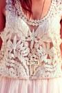 Light-pink-lace-sheinsidecom-skirt-cream-lace-up-sammydresscom-boots