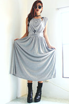 black platform wholesale7net boots - heather gray banggoodcom dress