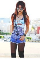 aquamarine vader comic blackmilkclothing swimwear