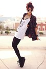 White-sanctusorguk-vest-black-creepers-choiescom-shoes