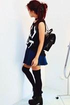black MartofChinacom boots - black axile backpack xfemmexcom bag