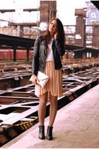 DIY skirt - lindex jumper