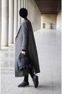 Choies-coat-h-m-jeans-zara-hat-mexx-bag-sweatshirt-reebok-sneakers
