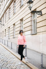 White-pretty-ballerinas-shoes-pink-cos-sweater-black-zara-bag