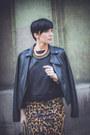 Black-lulus-jacket-black-romwe-bag-brown-zara-skirt-black-reebok-sneakers