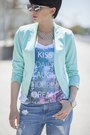 Blue-new-yorker-jeans-turquoise-blue-new-yorker-blazer