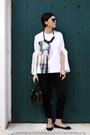Sisley-bag-zara-flats-h-m-pants-h-m-blouse