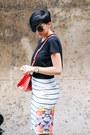 Black-zara-shirt-coral-zara-bag-white-shein-skirt-black-black-five-sandals
