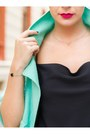 Aquamarine-oasap-blazer-black-lindex-shirt-black-oasap-bag-black-h-m-pants