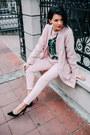 Light-pink-danica-aleksić-coat-light-pink-lily-tailor-pants