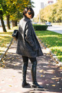 Gray-h-m-dress-dark-gray-ofinger-store-coat-gray-h-m-scarf