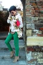 Zara boots - Mango bag - Zara pants - Zara vest - Zara blouse