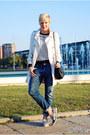 Light-brown-choies-shoes-beige-mango-coat-blue-zara-jeans-black-waokao-bag