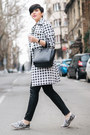 Heather-gray-choies-shoes-off-white-lulus-coat-black-sheinside-sweater