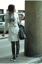 Mango coat - Zara jeans - david jones bag - pull&bear flats