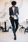 Shoe-star-boots-jagger-blazer-parfois-bag-black-orsay-pants