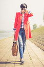 Red-sheinside-coat-blue-zara-jeans-white-us-polo-shirt-bronze-herej-bag