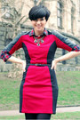 Brick-red-choies-shirt-black-us-polo-boots-ruby-red-sheinside-dress