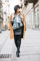 Antonella Rossi boots - Zara coat - New Yorker jacket - Tamara Paunovic t-shirt